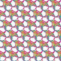 Abstracte achtergrond en naadloos patroon. vector