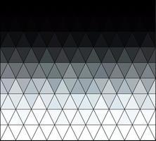 Grijs wit vierkant rastermozaïek, creatieve ontwerpsjablonen vector