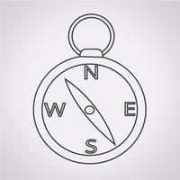 kompas pictogram symbool teken