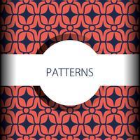 abstract naadloos patroonontwerp als achtergrond