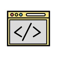 website element technologie om pagina te doorzoeken vector
