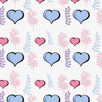 hartsymbool van liefde en passie achtergrond vector