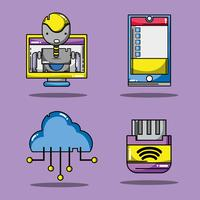 set-technologie patches data-informatie