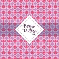 patroon vintage geometrische textuur achtergrondontwerp