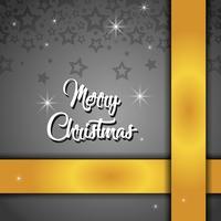 vrolijk kerststerren poster decoratie