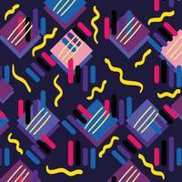 kleur geometrisch figuur achtergrondontwerp
