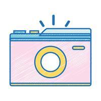 digitale camera om een fotokunst te maken