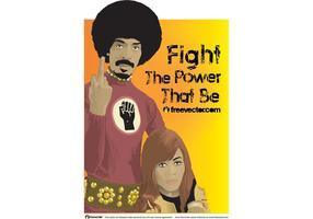 Ike en Tina Turner vector