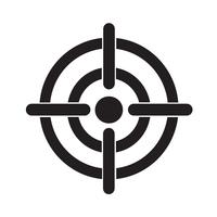 Doel pictogram symbool teken