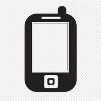 Mobiele telefoonpictogram