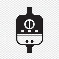 Waterverwarmer pictogram