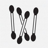 Wattenstaafje pictogram