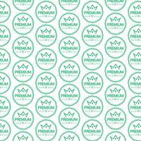 Patroon achtergrond Vintage premium label pictogram
