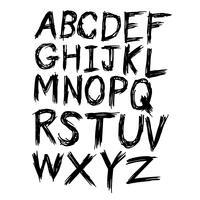 hand teken lettertype
