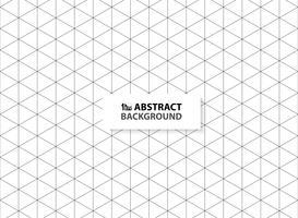 Abstracte zeshoek schetst zwarte kleur patroon achtergrond. U kunt gebruiken voor advertentie, poster, modern ontwerp, illustraties.