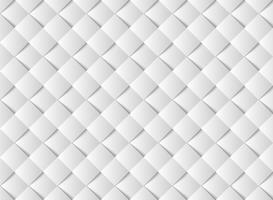 Abstract Witboek gesneden vierkant patroon ontwerp. illustratie vector eps10
