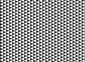 Abstracte zwart-witte kleur van het patroonachtergrond van de afmeting geometrische kubus. U kunt gebruiken voor een naadloos modern ontwerp van print, artwork, omslag.