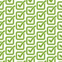 Patroonachtergrond Controleer het pictogram van de lijstknop