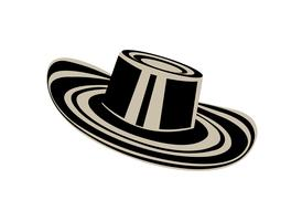Colombiaanse sombrero hoed