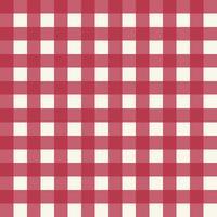 Roze geruite stof patroon vector