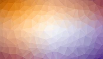 Gemengde kleuren driehoekige achtergrondtextuurvector vector