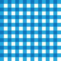 Donkerblauw en lichtblauw geruite stof patroon vector