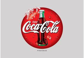 Coca-cola vector icoon