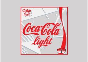 Coca-cola licht vector