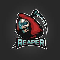 reaper embleem logo vector