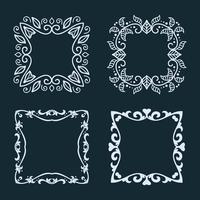 Verzameling van elegante frames