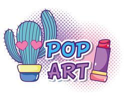 Popartcartoons vector