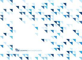 Eenvoudige blauwe geometrisch van patroonachtergrond van technologie.