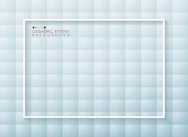 Samenvatting van de futuristische geometrische achtergrond van het gradiënt blauwe patroon.