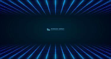 Het abstracte brede futuristische vierkante patroon van de netlijn verbindt achtergrond. illustratie vector eps10