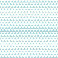 Abstract het patroon naadloos ontwerp van de technologie blauw driehoek op witte vector als achtergrond. illustratie vector eps10