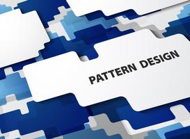 Abstract modern patroon van gradiënt blauwe achtergrond.