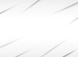 Abstracte halftone achtergrond van gradiënt witte en grijze stijl. vector