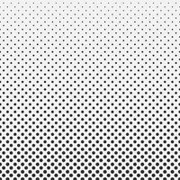Abstracte hexagon halftone zwart-witte patroonachtergrond.