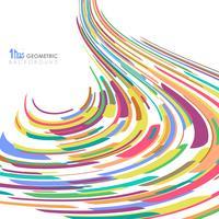 Samenvatting van de kleurrijke achtergrond van de het netwerklijn van het streeplijnpatroon.