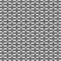 Abstracte op-art zwart-witte geometrische patroonachtergrond. vector