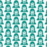Patroon achtergrond mensen gebruiker pictogram