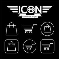 Winkelwagen pictogram