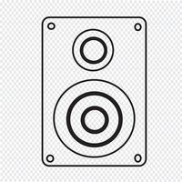Luidsprekers pictogram