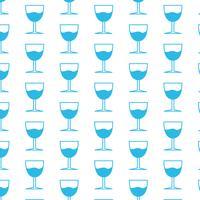 Glas Drink patroon achtergrond