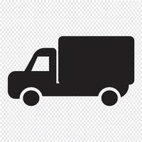 Auto vrachtwagen pictogram