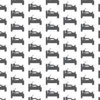 Slaap pictogram patroon achtergrond vector