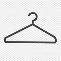 Kleerhanger pictogram