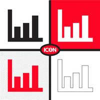 Grafiek grafiek pictogram