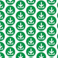 Patroonachtergrond Downloadpictogram Uploadknop