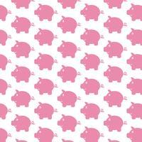 Piggy Bank patroon achtergrond